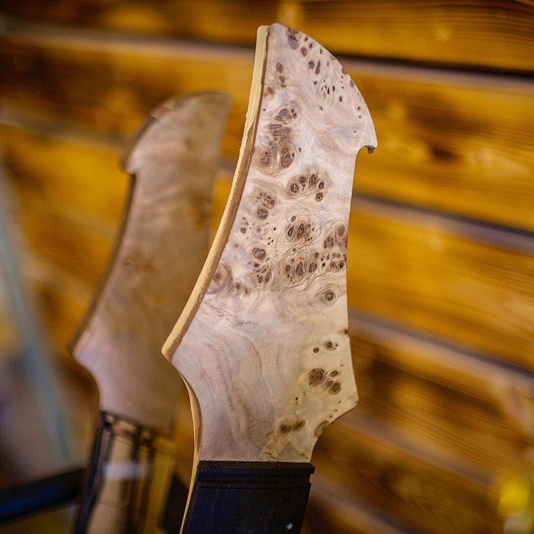 Ruční výroba kytary Badstroke Guitars
